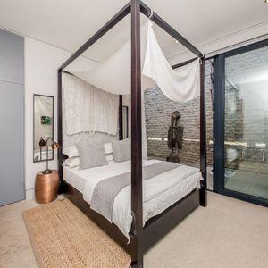 Second bedroom; LOADER VILLA - De Waterkant