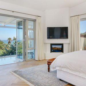 Master bedroom & TV; Shanklin Road - Camps Bay