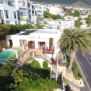 Drone Image; TERRACE LODGE - Camps Bay
