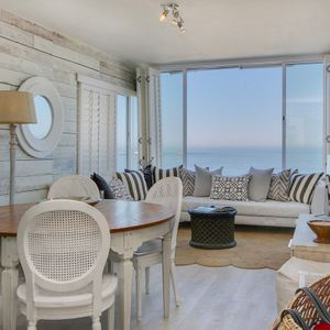 Living & dining area with Views; SAND & SEA - Clifton