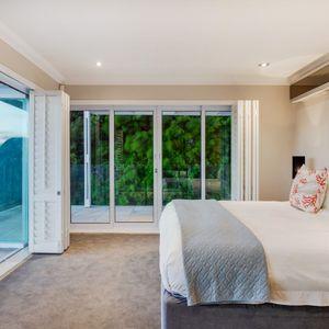 Master bedroom; MEDBURN ALCOVE - Camps Bay