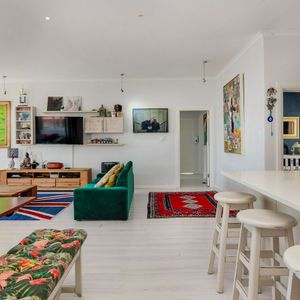 Living, kitchen & dining area; VILLA 13 - Camps Bay