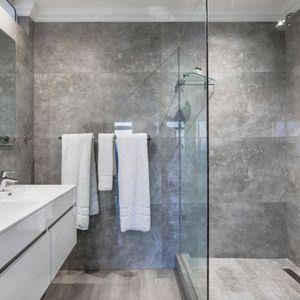 Master bathroom; MEDBURN ALPHA - Camps Bay