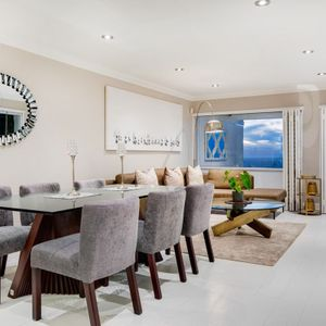 Dining area; MEDBURN ALCOVE - Camps Bay