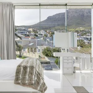 Bedroom with shower; VIEWS PENTHOUSE - Camps Bay