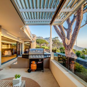 Private Balcony with BBQ; danielle Perold - Camps Bay