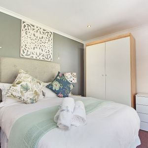 Second bedroom; BLUE SHORE VILLA - Camps Bay