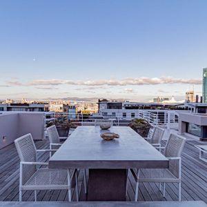 Rooftop Dining; 53 Napier - De Waterkant