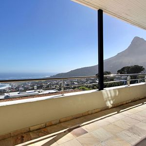 Balcony & Views; MEDBURN PENTHOUSE - Camps Bay
