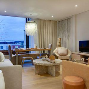 Living & TV area; AFRIQUE - De Waterkant