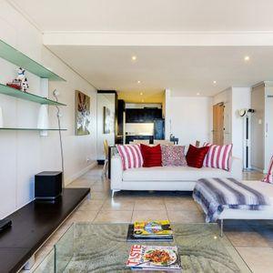Open-plan living area; DUNMORE ON CLIFTON - Clifton