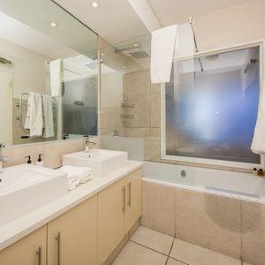Master bathroom; MAJESTIC MARINA -Mouille Point