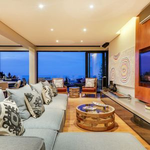 TV lounge; 129 OCEAN VIEW PENTHOUSE - Green Point