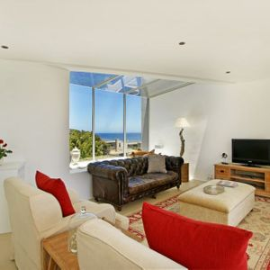 Living area & TV; SILVER LINING - Camps Bay