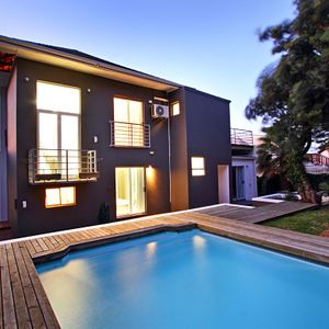 Exterior & Swimming pool; ROMAN VILLA - Camps Bay