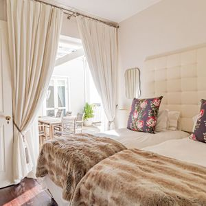 Third bedroom with patio access; SELBOURNE - Sea Point