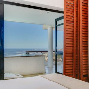 Master bedroom & sea views; BALI DREAM - Camps Bay