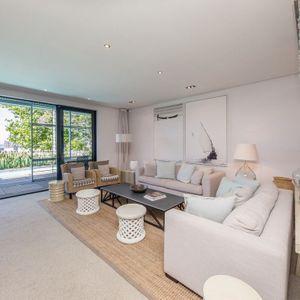 Living room; LOADER VILLA - De Waterkant