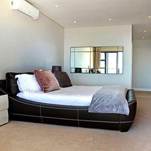 Master bedroom; MEDBURN PENTHOUSE - Camps Bay