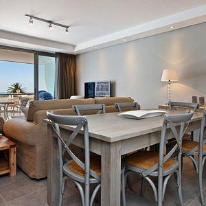 Dining & living area; FAIRMONT 201 - Sea Point