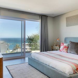 Master bedroom; ROMAN VILLA - Camps Bay