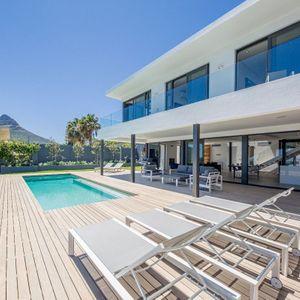 Pool deck; VILLA VIEWS - Camps Bay