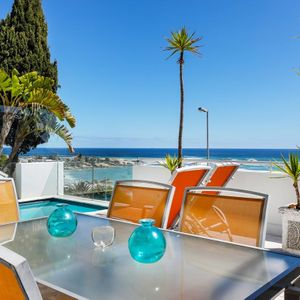 Outdoor dining & ocean view; CLIFTON VIEWS - Clifton
