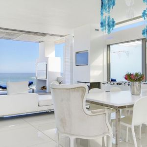 Living & dining area; VIEWS PENTHOUSE - Camps Bay