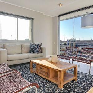 Living area & Views; 317 HARBOUR BRIDGE - Foreshore