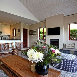 Living & Kitchen area; MOUNTAIN LODGE - Hout Bay