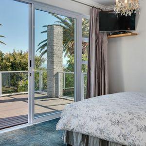 Master bedroom; VILLA 13 - Camps Bay