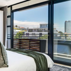 Second bedroom with view; PENTHOUSE ON POINT - Green Point