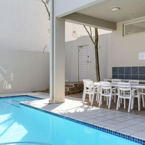 Pool sitting area; 5 SUMMER PLACE - Camps Bay