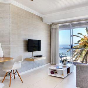 Living area; SEASONS 1 BEDROOM - Camps Bay