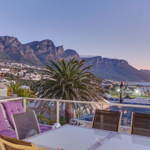 Balcony off Master Bedroom; 5 SUMMER PLACE - Camps Bay