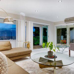 Living room; MEDBURN ALCOVE - Camps Bay