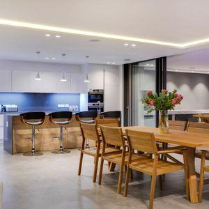 Kitchen & Dining; SKYLINE VILLA - Camps Bay