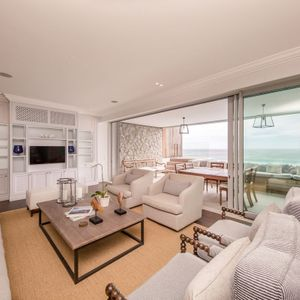Lounge area; VICTORIA APARTMENT - Camps Bay