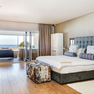 Master bedroom; OCEAN SYMPHONY - Camps Bay