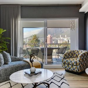 Living room with views; DANBURY ON LOOP -Cape Town