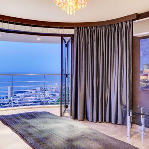 View from fourth bedroom; LE GRANDE - Bantry Bay