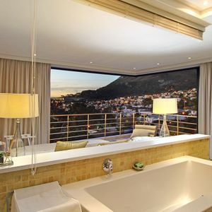 En-suite to master bedroom; THE LOOK OUT - Camps Bay