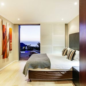 Master Bedroom; PANORAMA VIEWS - Camps Bay