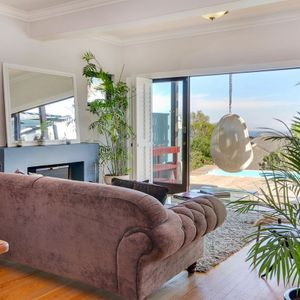 Living area with view; ON HOVE - Camps Bay