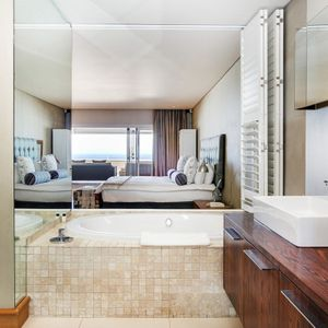 Master bedroom bathroom; OCEAN SYMPHONY - Camps Bay