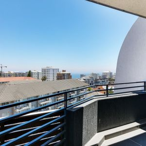 Second bedroom balcony; PENTHOUSE ON POINT - Green Point