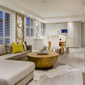 Lounge with inside view; 204 FAIRMONT - Sea Point