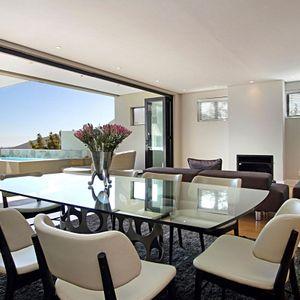 Dining area & Views; MEDBURN PENTHOUSE - Camps Bay