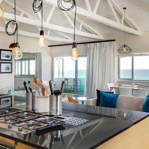 Kitchen & Living space: BONDI BLU - Mouille Point