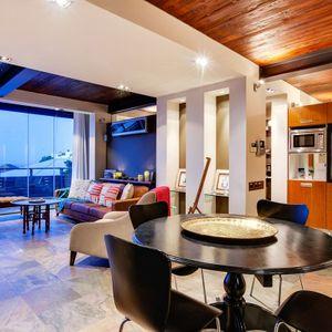Dining & living area; OCEAN VIEW TREASURE-Sea Point